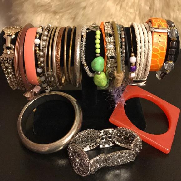 Jewelry - Bracelets lot of  30